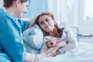 CARING FOR A CHILD WITH AN OSTOMY
